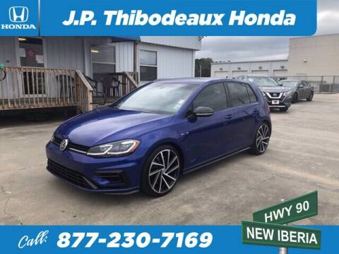 2019 Volkswagen Golf R for sale at J P Thibodeaux Used Cars in New Iberia LA