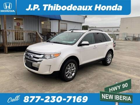 2014 Ford Edge for sale at J P Thibodeaux Used Cars in New Iberia LA