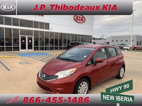 2014 Nissan Versa Note for sale at J P Thibodeaux Used Cars in New Iberia LA