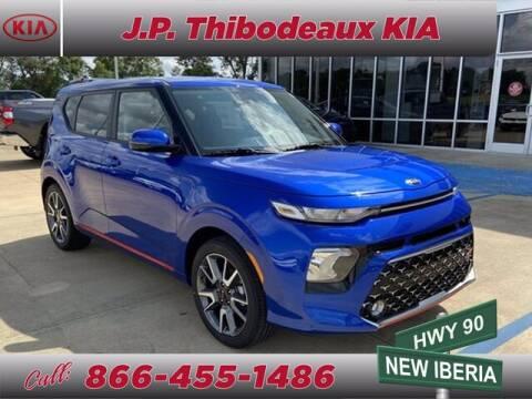 2021 Kia Soul for sale at J P Thibodeaux Used Cars in New Iberia LA