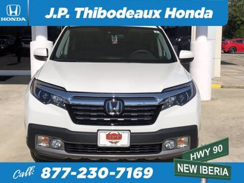 2020 Honda Ridgeline for sale at J P Thibodeaux Used Cars in New Iberia LA