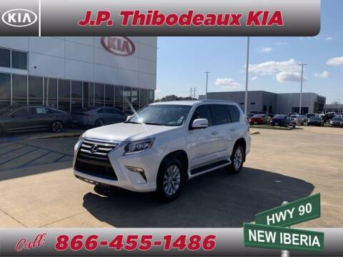 2015 Lexus GX 460 for sale at J P Thibodeaux Used Cars in New Iberia LA