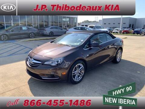 2016 Buick Cascada for sale at J P Thibodeaux Used Cars in New Iberia LA