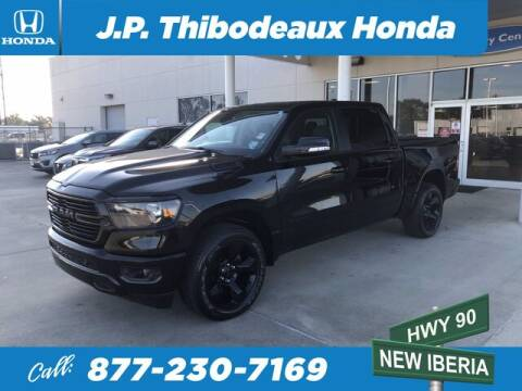 2019 RAM Ram Pickup 1500 for sale at J P Thibodeaux Used Cars in New Iberia LA
