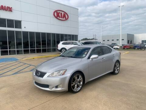 2009 Lexus IS 250 for sale at J P Thibodeaux Used Cars in New Iberia LA