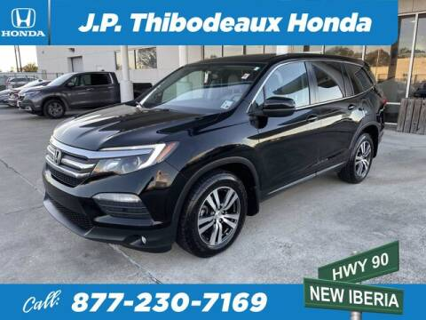 2017 Honda Pilot for sale at J P Thibodeaux Used Cars in New Iberia LA