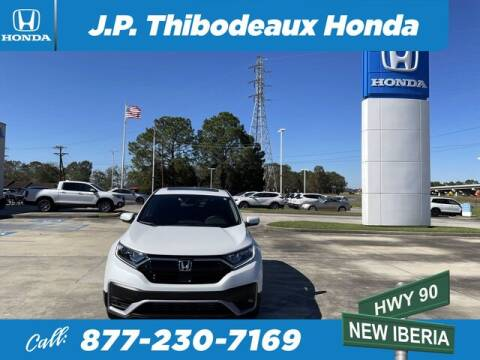 2020 Honda CR-V for sale at J P Thibodeaux Used Cars in New Iberia LA