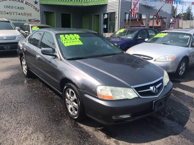 Acura TL In Everett WA American Dream Motors - 2003 acura cl for sale