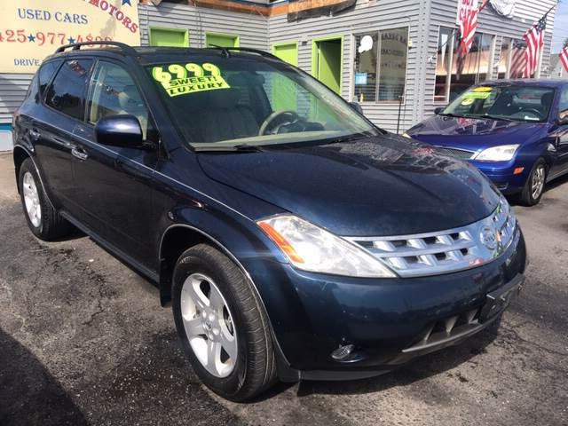 2003 Nissan Murano For Sale At American Dream Motors In Everett WA