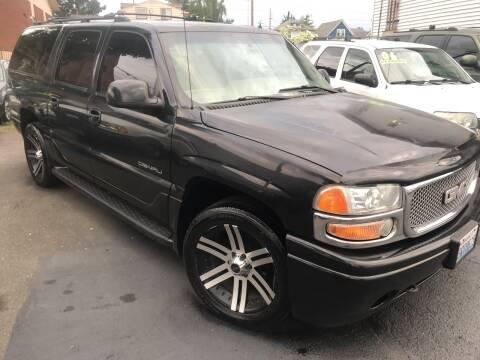 2002 GMC Yukon XL Denali for sale at American Dream Motors in Everett WA