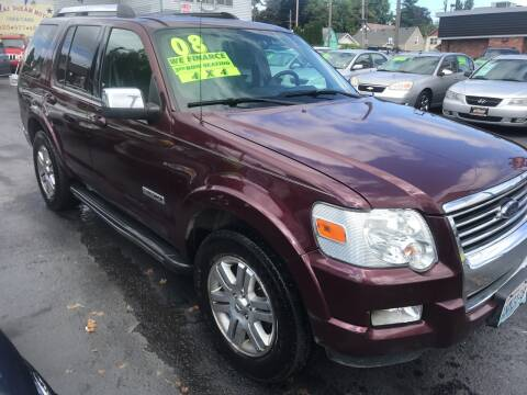 2008 Ford Explorer for sale at American Dream Motors in Everett WA