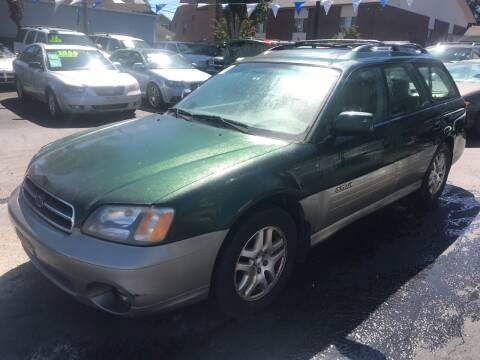2000 Subaru Outback for sale at American Dream Motors in Everett WA