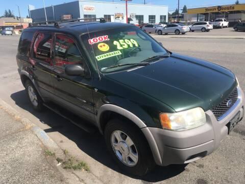 2002 Ford Escape for sale at American Dream Motors in Everett WA