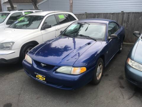 1996 Ford Mustang for sale at American Dream Motors in Everett WA