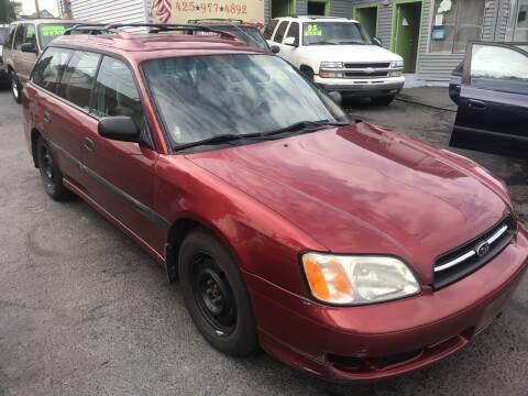 2002 Subaru Legacy for sale at American Dream Motors in Everett WA