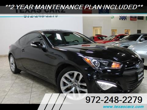 2015 Hyundai Genesis Coupe for sale in Carrollton, TX