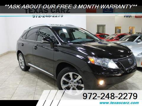 2011 Lexus RX 350 for sale in Carrollton, TX