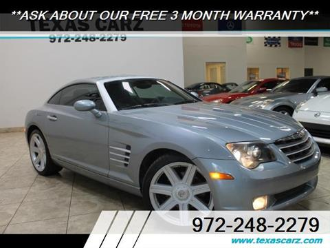 2004 Chrysler Crossfire for sale in Carrollton, TX