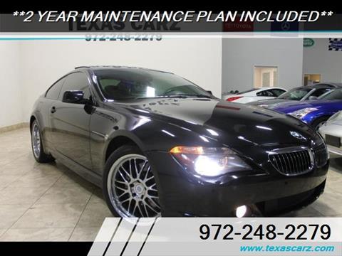 2007 BMW 6 Series for sale in Carrollton, TX