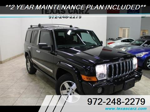 2010 Jeep Commander for sale in Carrollton, TX