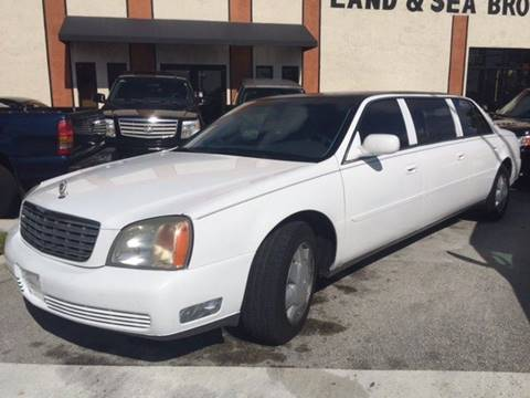 2000 Cadillac Deville Professional for sale in Deerfield, FL