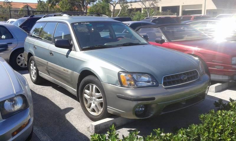 2003 Subaru Outback Awd 4dr Wagon In Deerfield Fl Land Sea