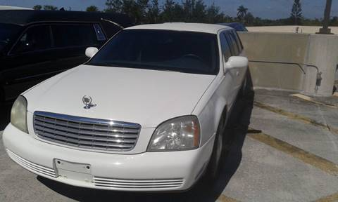 2003 Cadillac Deville Professional for sale in Deerfield, FL