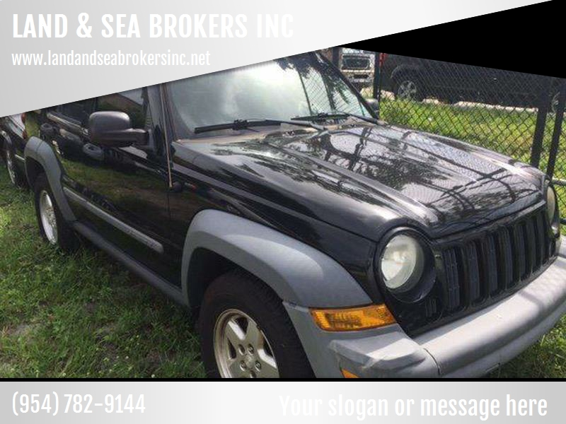 2005 Jeep Liberty Sport 4dr SUV   Deerfield FL