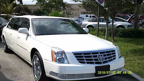 2008 Cadillac DTS Pro for sale in Deerfield, FL