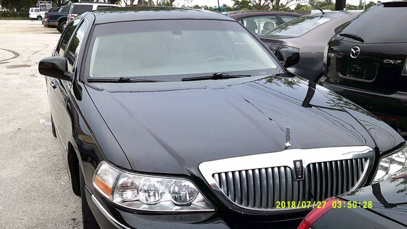 2007 Lincoln Town Car Signature L 4dr Sedan In Deerfield Fl Land