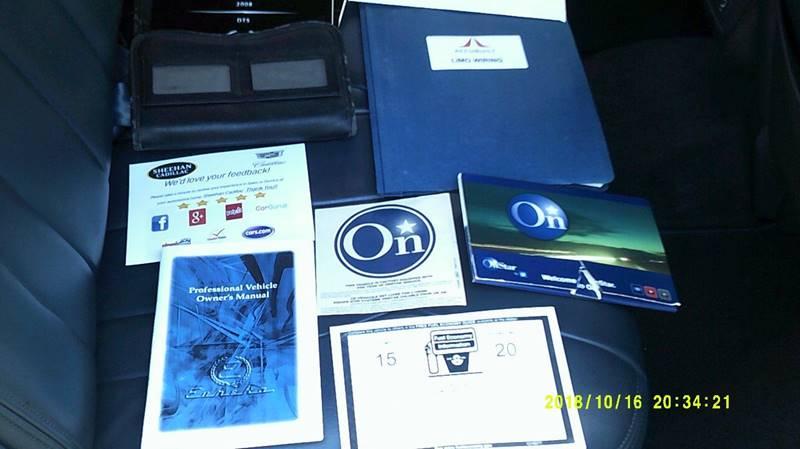 2008 cadillac dts manual