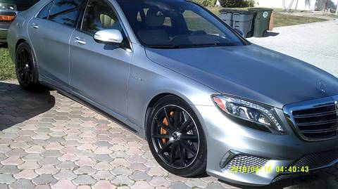 2015 Mercedes-Benz S-Class for sale at LAND & SEA BROKERS INC in Deerfield FL