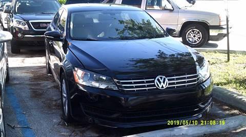 2012 Volkswagen Passat for sale at LAND & SEA BROKERS INC in Deerfield FL