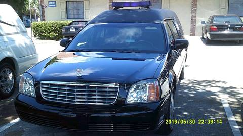 2002 Cadillac Deville Professional for sale in Deerfield, FL