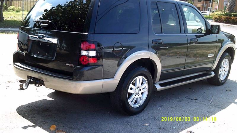 2007 Ford Explorer Eddie Bauer 4dr SUV 4WD (V6) In Deerfield FL