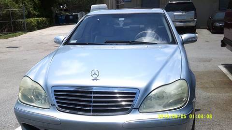 2003 Mercedes-Benz S-Class for sale at LAND & SEA BROKERS INC in Deerfield FL