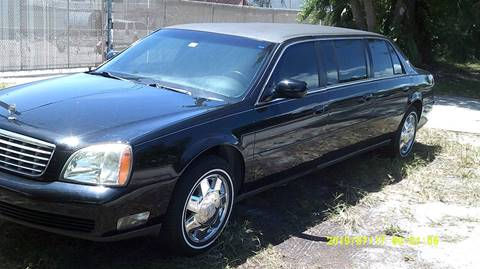 Limousine For Sale >> 2004 Cadillac Deville Professional For Sale In Deerfield Fl