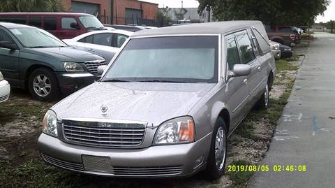 2001 Cadillac Deville Professional for sale in Deerfield, FL