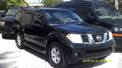 2007 Nissan Pathfinder for sale at LAND & SEA BROKERS INC in Deerfield FL