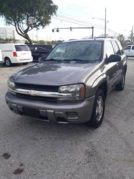 2007 Chevrolet TrailBlazer for sale at LAND & SEA BROKERS INC in Deerfield FL