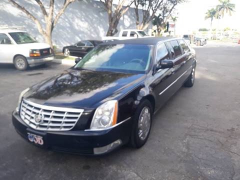 2010 Cadillac DTS Pro for sale at LAND & SEA BROKERS INC in Deerfield FL