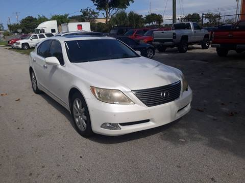 2008 Lexus LS 460 for sale at LAND & SEA BROKERS INC in Deerfield FL