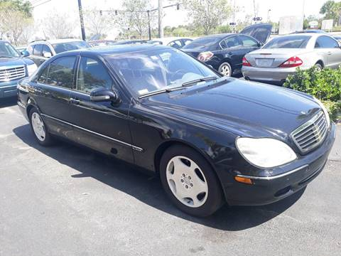 2001 Mercedes-Benz S-Class S 600 for sale at LAND & SEA BROKERS INC in Deerfield FL