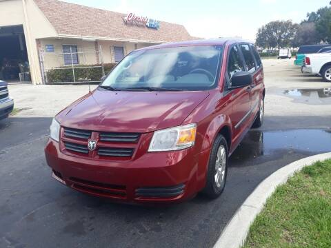 2008 Dodge Grand Caravan for sale at LAND & SEA BROKERS INC in Deerfield FL
