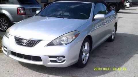 2008 Toyota Camry Solara for sale at LAND & SEA BROKERS INC in Deerfield FL