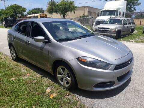 2015 Dodge Dart for sale at LAND & SEA BROKERS INC in Deerfield FL