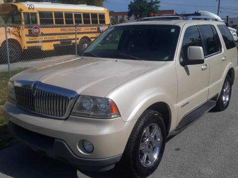 2005 Lincoln Aviator for sale at LAND & SEA BROKERS INC in Deerfield FL