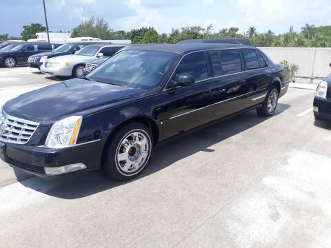 2007 Cadillac DTS Pro for sale at LAND & SEA BROKERS INC in Deerfield FL