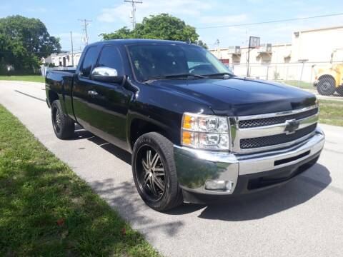 2012 Chevrolet Silverado 1500 for sale at LAND & SEA BROKERS INC in Deerfield FL
