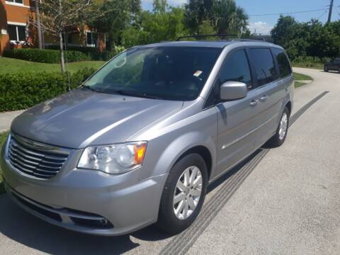 2016 Chrysler Town and Country for sale at LAND & SEA BROKERS INC in Deerfield FL